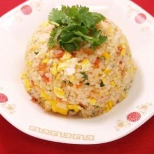 桜海老の玄米カオパックン