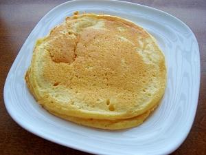 大豆粉でふわふわホットケーキ