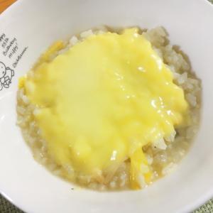 豆乳鍋の残り汁で!豆乳チーズリゾット