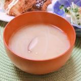 キャベツの芯*もやし*生椎茸の味噌汁