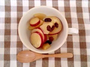 リンゴとさつまいもの甘麹煮