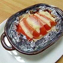 熱々☆ポテト&トマトのホイル焼き