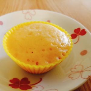 レンジで簡単♪HMで☆きな粉のカップケーキ