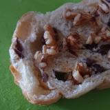 あん食パンでクルミはちみつトースト