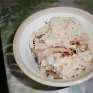 松茸風味のエリンギご飯