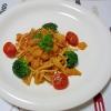 簡単♪濃厚☆レストランの蟹トマトクリームパスタ