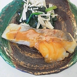 鱈の蒸し焼き~味噌ソース~