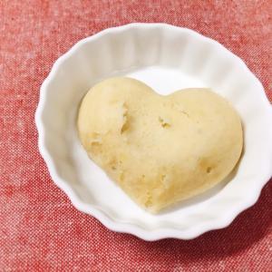 【離乳食後期】さつまいもときなこの蒸しパン