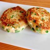 ニラたっぷり☆豆腐ハンバーグ