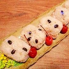 分づき米☆黒千石豆ご飯