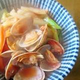 あさりのトマト鍋