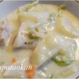 野菜たっぷり~♪白菜と大根のクリーム煮