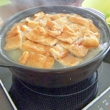 揚げとキャベツで★雑炊まで美味しい!超ニンニク鍋