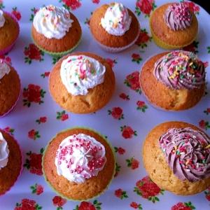 ☆サラダ油で簡単♪混ぜるだけのカップケーキ☆
