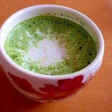 抹茶メープルラテ