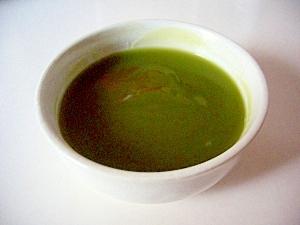 片栗粉で、抹茶のくず湯(全工程写真あり)