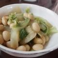 大豆と白菜のうま煮