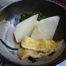 シリコンスチーマーで、かぶの煮物