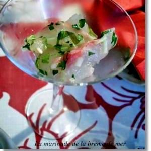 簡単 鯛のイタリアンマリネ