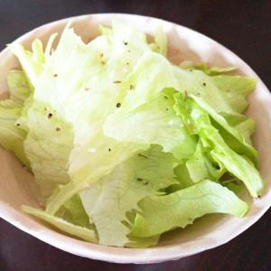 クレイジーソルトで☆レタスのサラダ