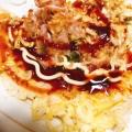 超美味しいよ♬ ご飯でお好み焼き