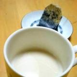 贅沢?ちょっと濃い目の、ほうじ茶ラテ。
