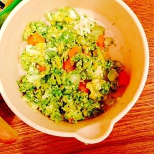 離乳食☆色々野菜入りの卵焼き