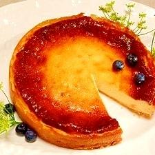 2種のチーズ☆ベイクドチーズケーキ