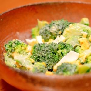 お弁当にも!簡単ブロッコリーとゆで卵のサラダ☆