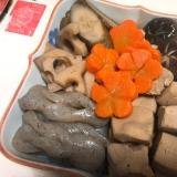 簡単で栄養豊富♡高野豆腐と根菜の煮物