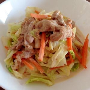 ご飯がすすむ☆豚肉とキャベツのしょうゆマヨ炒め
