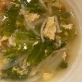 レタたまスープ