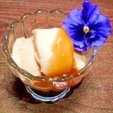 ピーナツクリームで☆甘いジーマミー豆腐風