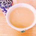 ホワイトチョコで♡甘〜いミルクティー