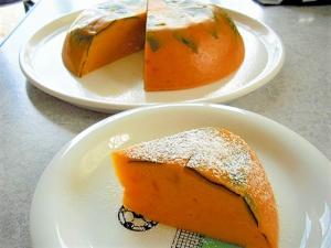 濃厚かぼちゃプリンケーキ 炊飯器で簡単に!