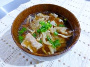 豚肉とゴボウのつけ汁(蕎麦・うどん)