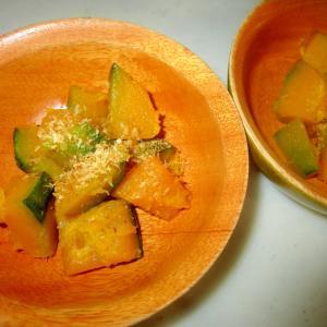カボチャの味醂煮