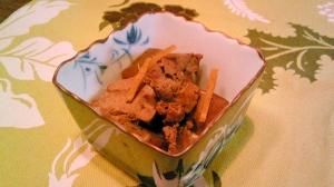 鶏レバーのシンプル生姜煮