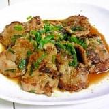 豚ヒレ肉の梅ソース