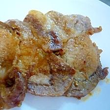 豚ロースの塩糀照り焼き