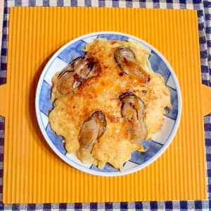 牡蠣のキャベツ焼き♪