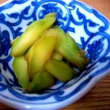 きんぴらブロッコリー(茎)