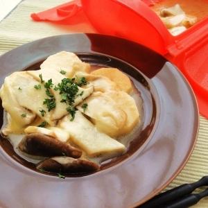 エリンギと長芋のチーズ蒸し