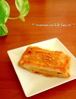 簡単ひとくち♪マロンパイ♥味は本格的