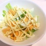 マヨネーズがうまい☆キャベツと白菜と茹で卵のサラダ