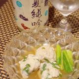 夏酒に、鱧の大葉香る冷やし鉢