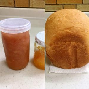 残ったジャムの救済♡HBでジャム生地パン