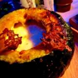 ☆ダッチオーブン☆で簡単すぎるかぼちゃグラタン☆