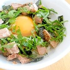 卵かけご飯★ちょっと豪華に★ポン酢で〜♪