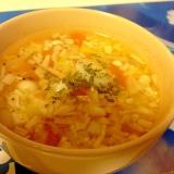 食べても太らない★えのきとキャベツの食べるスープ